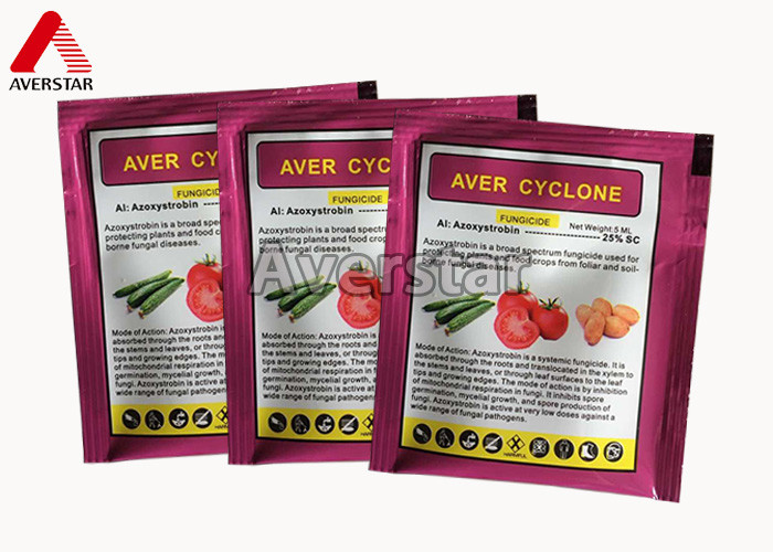 Highly Effective Broad Spectrum Fungicide , Fungicide For Plants Azoxystrobin 25% SC